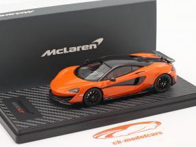 McLaren 600LT Coupe year 2018 myan orange 1:43 TrueScale