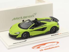 McLaren 600LT Spider Byggeår 2019 lime grøn 1:43 TrueScale