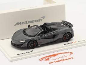 McLaren 600LT Spider Année de construction 2019 chicane gris 1:43 TrueScale