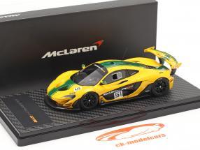 McLaren P1 GTR #51 Concept Car Harrods inspired Livery 1:43 TrueScale