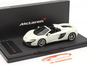 McLaren 650S Spider Byggeår 2014 hvid 1:43 TrueScale