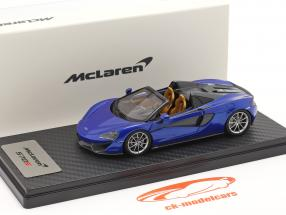 McLaren 570S Spider Année de construction 2017 vega bleu 1:43 TrueScale