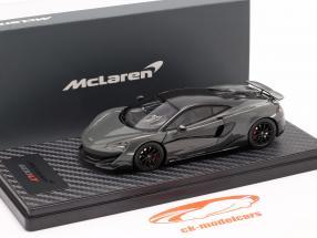 McLaren 600LT Coupe Anno di costruzione 2018 chicane Grigio 1:43 TrueScale