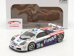 McLaren F1 GTR #39 8ème 24h LeMans 1996 Piquet, Cecotto, Sullivan 1:18 Solido
