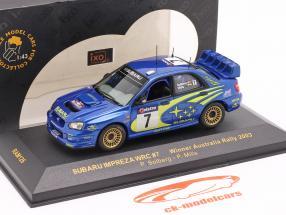 Subaru Impreza WRC #7 gagnant Australie se rallier 2003 Solberg, Mills 1:43 Ixo
