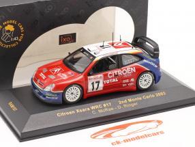 Citroen Xsara WRC #17 corrida Monte Carlo 2003 McRae, Ringer 1:43 Ixo