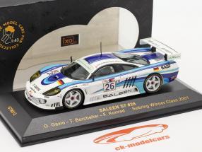 Saleen S7 #26 Sebring vencedora Class 2001 Gavin, Borcheller, Konrad 1:43 Ixo