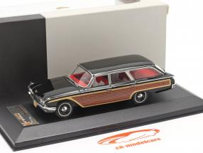 Ford Country Squire år 1960 sort 1:43 Premium X