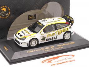 Ford Focus WRC #46 se rallier Monza 2006 Rossi, Cassina 1:43 Ixo