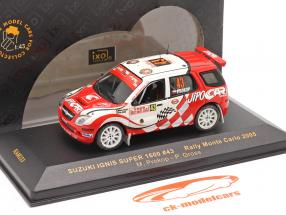 Suzuki Ignis Super 1600 #43 rally Monte Carlo 2005 Prokop, Gross 1:43 Ixo