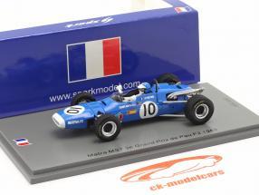 Jean-Pierre Beltoise Matra MS7 #10 3rd GP de Pau Formel 2 1968 1:43 Spark