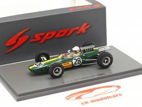 Giacomo Russo Lotus 25 #28 italiano GP Fórmula 1 1965 1:43 Spark