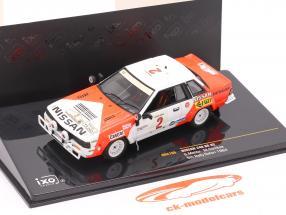 Nissan 240 RS #2 samle Safari 1984 Mehta, Combes 1:43 Ixo