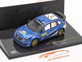 Subaru Impreza WRC #5 corrida Grécia 2008 Solberg, Mills 1:43 Ixo