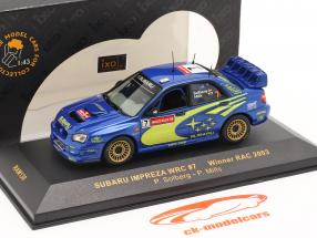 Subaru Impreza WRC #7 Sieger RAC 2003 Solberg, Mills 1:43 Ixo