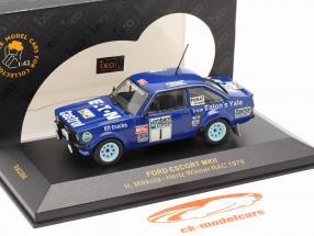 Ford Escort MKII #1 ganador Lombard reunión 1979 Mikkola, Hertz 1:43 Ixo