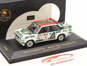 Fiat 131 Abarth #1 Sieger 1000 Lakes Rallye 1979 Alen, Kivimaki 1:43 Ixo