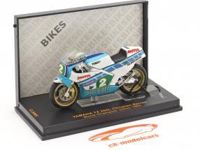Christian Sarron Yamaha TZ 250L #2 Wereld kampioen 250cc 1984 1:24 Ixo / 2. keuze