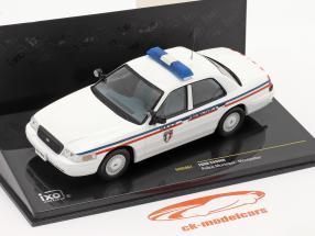 Ford Crown Polícia Municipal de Montpellier Branco 1:43 Ixo / 2 escolha