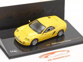 Hommell RS Berlinette Ano 1999 amarelo 1:43 Ixo