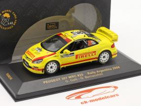 Peugeot 307 WRC #25 Rallye Argentina 2006 1:43 Ixo