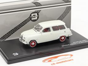 Saab 95 ano 1961 branco 1:43 Triple9