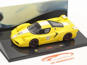 Ferrari FXX #22 amarillo 1:43 HotWheels Elite