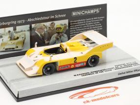 Porsche 917/10 #2 Nürburgring 1973 Kauhsen, Heinemann neve Edition 1:43 Minichamps