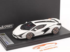 Lamborghini Sian FKP 37 Año de construcción 2019 monocerus blanco 1:43 LookSmart