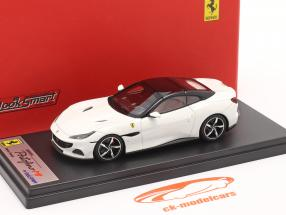 Ferrari Portofino M Année de construction 2020 cervino blanc 1:43 LookSmart