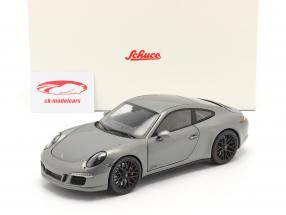Porsche 911 (991) Carrera GTS Coupe Année de construction 2014 gris agate 1:18 Schuco