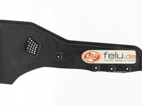 Original front wing side plate right formula Renault 2.0