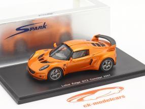 Lotus Exige GT3 Concept 2007 1:43 Spark d'orange