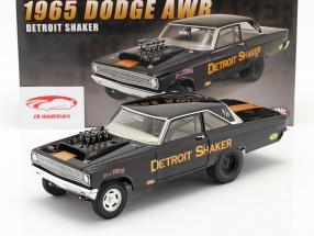 Dodge AWB Detroit Shaker Drag Car 1965 schwarz 1:18 GMP