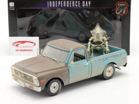 Chevrolet C-10 Oppakken 1971 Film Independence Day (1996) Met figuur 1:18 Highway61