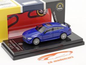 Mercedes-Benz AMG GT 63 S Anno di costruzione 2019 blu metallico 1:64 Paragon Models