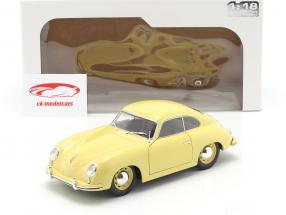 Porsche 356 Pre-A Coupe condor geel 1:18 Solido