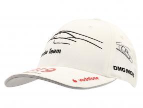 Porsche Team Cap Timo Bernhard 919 Hybrid bianca