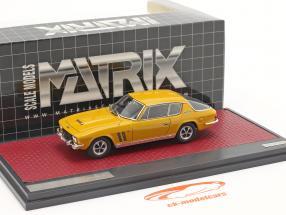 Jensen Interceptor FF Series II Anno di costruzione 1970 Mango giallo 1:43 Matrix