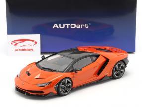 Lamborghini Centenario 建設年 2016 パール オレンジ 1:18 AUTOart