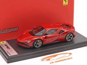 Ferrari SF90 Stradale Ano de construção 2019 corsa vermelho metálico 1:43 LookSmart