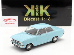Opel Kadett B Bouwjaar 1965 Lichtblauw 1:18 KK-Scale
