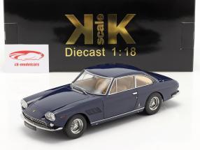 Ferrari 330 GT 2+2 Byggeår 1964 mørkeblå 1:18 KK-Scale