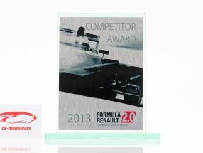 Glass cup formula Renault 2.0 NEC Competitor Award Renault Sport 2013