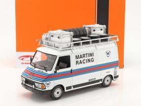 Fiat 242 camioneta Rallye Assistance Martini Racing 1:18 Ixo