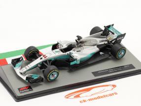 L. Hamilton Mercedes F1 W08 #44 ganador chino GP F1 Campeón mundial 2017 1:43 Altaya