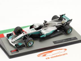 L. Hamilton Mercedes F1 W08 #44 vincitore Cinese GP F1 Campione del mondo 2017 1:43 Altaya