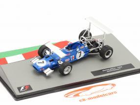 Jackie Stewart Matra MS10 #7 vinder Syd afrikansk GP formel 1 Verdensmester 1969 1:43 Altaya