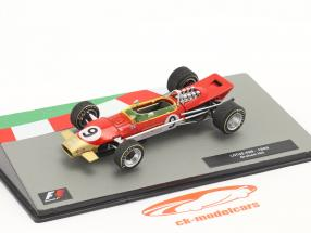 Graham Hill Lotus 49B #9 Winner Monaco GP formula 1 World Champion 1968 1:43 Altaya