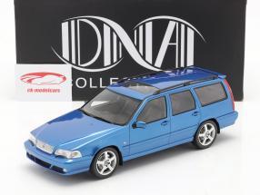 Volvo V70 R (Génération 1) Année de construction 1999 bleu 1:18 DNA Collectibles